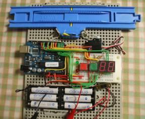 Arduino-ストップレール2.1